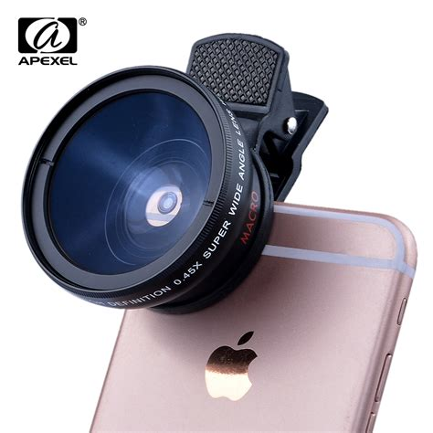 Kamera Samsung Zoom Lens 5x professional 12 5x macro photo hd 0 45x wide angle phone lens for samsung s7 s6 a3
