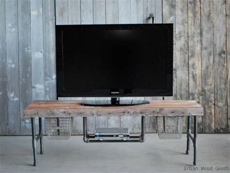 Plumbing Pipe Tv Stand by Pipe Tv Wtand Made Industry Tv Media Stand By