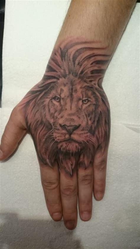 tattoo x on hand 41 best lion tattoos on hand