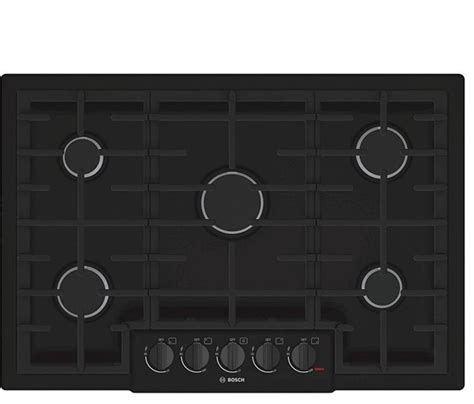 modern gas cooktop shop houzz bosch home appliances 30 quot wide gas cooktop