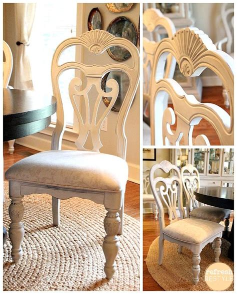 how to paint dining room chairs with the finish max
