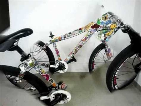 Fahrrad Sticker Bomb by My Stickerbomb Bike