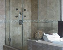Glass Shower Doors In Rochester New York Insulation Gutters Fireplaces Installation Service