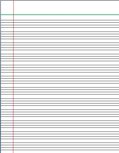 printable handwriting paper 4 lines 4 lines writing template lined paper pinterest