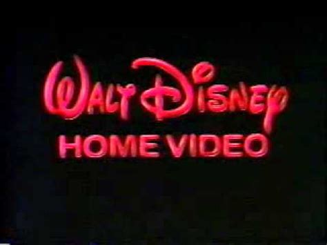 1986 walt disney home video logo aka youtube walt disney home video logo october 14 1986 november 6