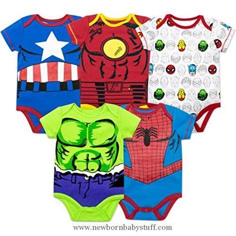 Baby Grow Bodysuit Pendek 5 Pack Boy Baby Boy Clothes Marvel Baby Boys 5 Pack Onesies The