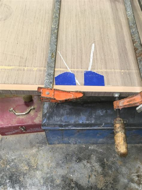 create  striking continuous grain veneered cabinet