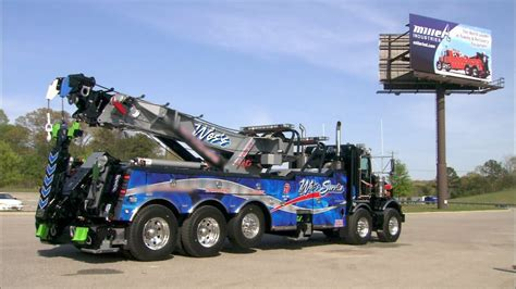 truck made large tow trucks how it s made