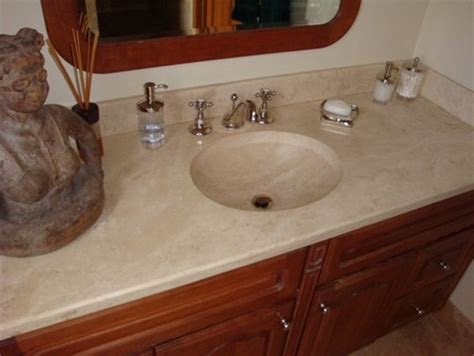 one piece bathroom and countertop how to choose a countertop for your bathroom