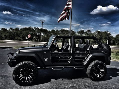 jeep hardtop custom 2017 jeep wrangler unlimited custom lifted 24s leather