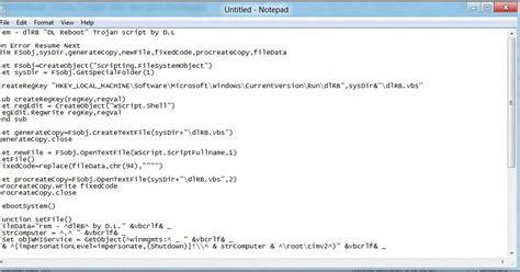 bagaimana cara membuat file xml dengan notepad cara membuat virus trojan dengan notepad