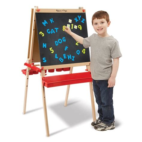 easels for kids deluxe magnetic standing art easel for kids educational