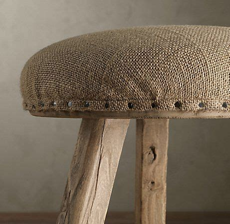 burlap bench cushion burlap redo great idea i need to recover some pieces for