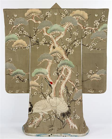 kimono pattern symbolism kimono decoration symbols motifs victoria and albert