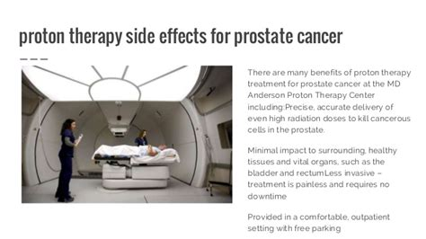 Proton Radiation Therapy For Cancer by Proton Therapy For Cancer