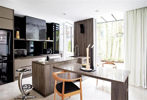 kitchen island cum dining table kitchen island design ideas home decor singapore