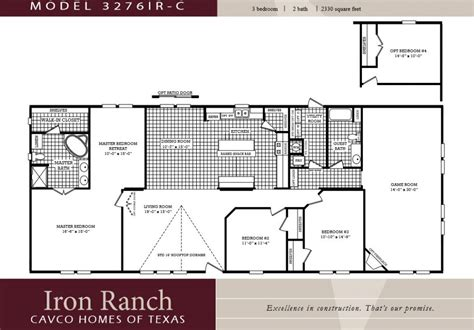 mobile home house plans house plans with 3 bedrooms 2 baths lovely 3 bedroom ranch