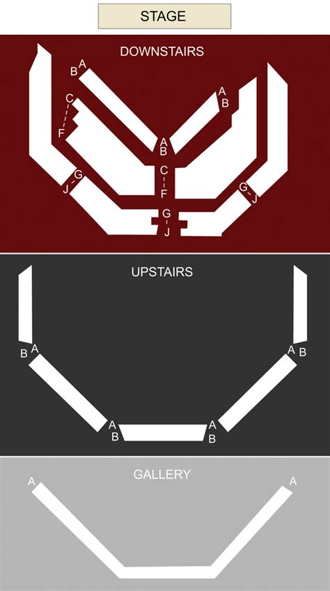 vic house seating plan vic seating chart and stage