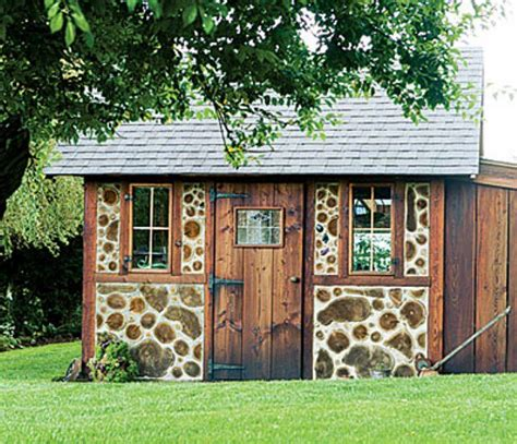 Marks Sheds by Cordwood Cordwood Homes