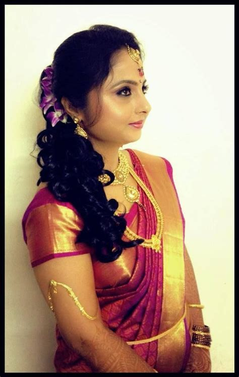 hairstyles for south indian reception indian bride s reception hairstyle updo indian bridal