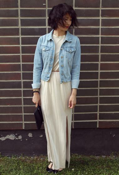 Maxi Elina elina l weekday split maxi dress by the wind