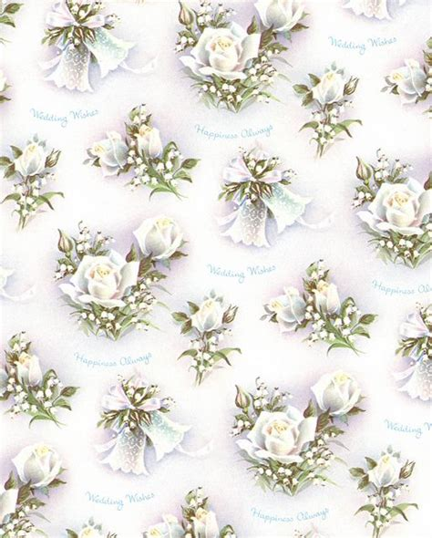 Wedding Wrapping Paper by 1950s Wedding Wrapping Paper Vintage Brides