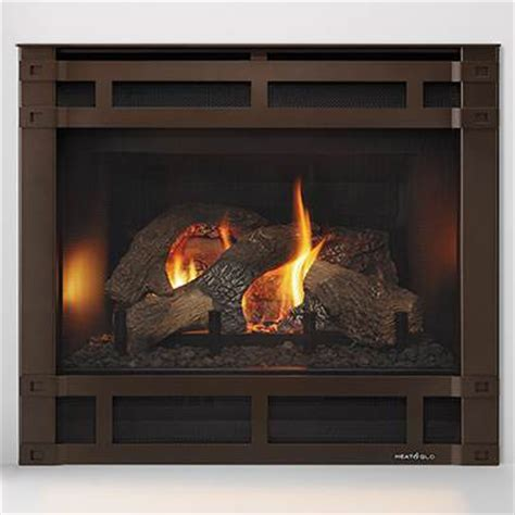 heat glo sl 350trs slim line gas fireplace