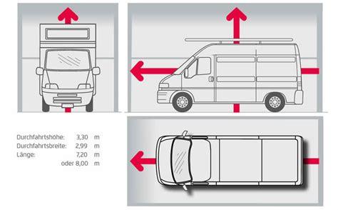 garage abmessungen gro 223 raumgarage f 252 r wohnmobil und transporter garagen welt