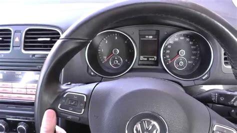 mk6 gti interior lights vw golf mk6 interior review youtube