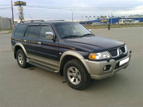 car manuals free online 2005 mitsubishi pajero parking system mitsubishi pajero sport owners manual pdf