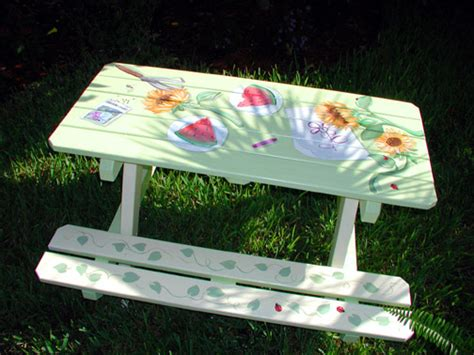 cool painted picnic tables best picnic table paint ideas diy projects pinterest