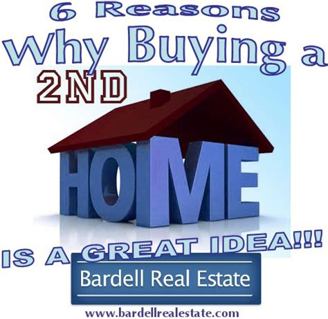 6 reasons why buying a second home is a great idea