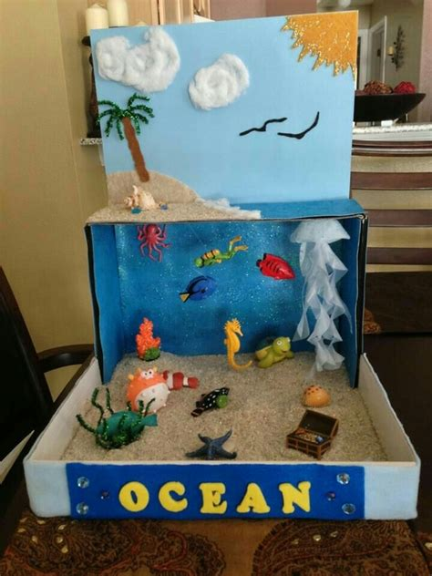 crafts for school projects image result for diorama project fish boy stuff