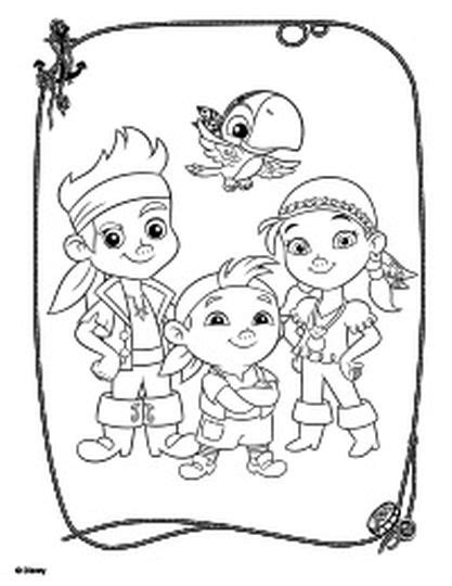 neverland map coloring page jake and the neverland pirates coloring pages part 1