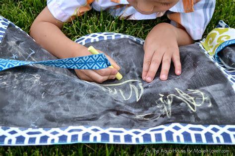 diy chalkboard mat take along chalk mat for make it and it