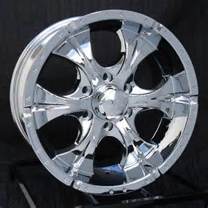 Wheels Chevy Truck 17 Inch Chrome Wheels Rims Chevy Gmc 6 Lug 1500