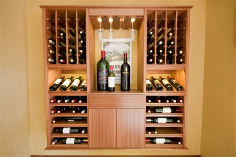 mahogany wine cabinet kessick wine cellarskitchen design select series wall install modular wine cabinets