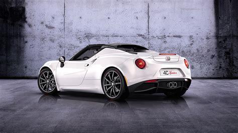 Alfa Romeo 4c Wallpaper by 2014 Alfa Romeo 4c Spider Prototype 3 Wallpaper Hd Car