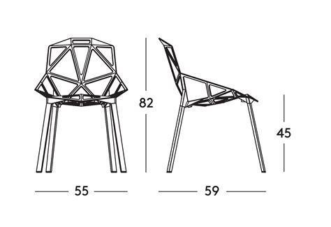 chair one chair one by magis ecc