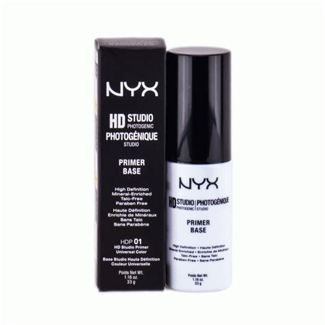 Nyx Hd Studio Primer Base primer nyx hd studio photogenic foundation
