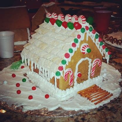 homemade gingerbread house gingerbread house icing recipe genius kitchen