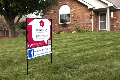 backyard signs we are the real estate pros pendleton real estate pro