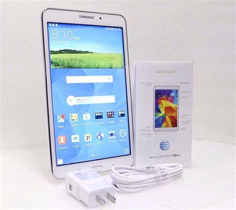 Samsung Tab 4 Gsm new samsung galaxy tab 4 16gb wifi gsm at t gsm unlocked 8in tablet 887276059259 ebay