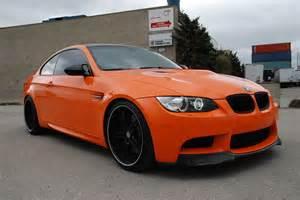 Orange Bmw Bmw M3 Gloss Orange