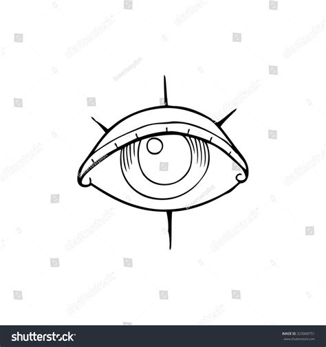 cartoon eye tattoo cartoon eye symbol