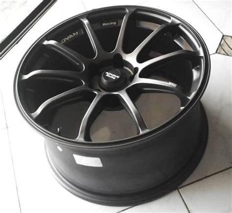 Velg Mobil Ring 18 Lebar 8 9 Type Vorsteiner Jual Velg Mobil Advan Rs Ring 18 Black Murah Flash Auto
