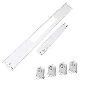 4 Foot Fluorescent Light Fixture Cover Ballast Cover Retrofit Kit 4ft Fixture 4rb421t8l10