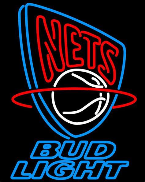 nba bud light cans nba bud light new jersey nets neon sign neon