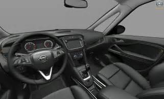 Opel Zafira Interior This Is Likely The Facelifted 2017 Opel Vauxhall Zafira