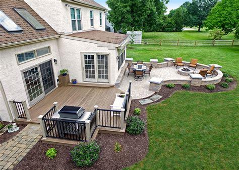 Patios And Decks Pictures - custom deck patio malvern pa 239 sq ft keystone custom